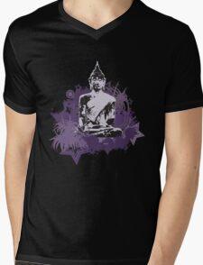 Thai Buddha Mens V-Neck T-Shirt
