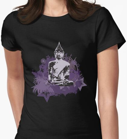 Thai Buddha Womens Fitted T-Shirt