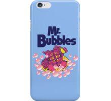 Mr. Bubbles iPhone Case/Skin