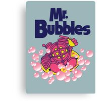 Mr. Bubbles Canvas Print