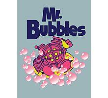 Mr. Bubbles Photographic Print