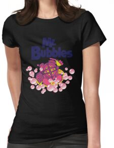 Mr. Bubbles Womens Fitted T-Shirt