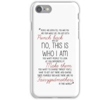 Once Upon a Time - Emma Swan Quote Red iPhone Case/Skin
