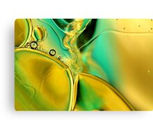 Oil & Water XII Canvas Print