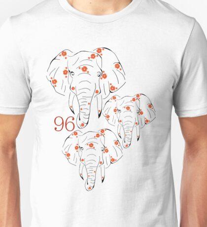 96 Elephants Unisex T-Shirt