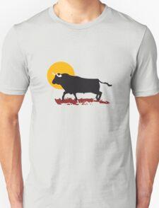 bull and sun Unisex T-Shirt