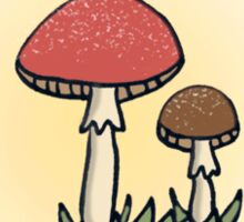 There's a Fungus Among Us Sticker