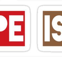 Blood Type Caffeine Sticker