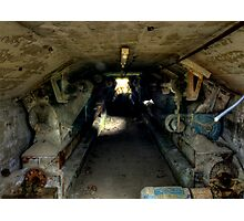 Cement Tunnel Photographic Print