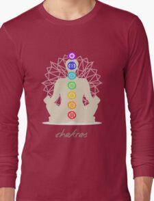 Chakras body Long Sleeve T-Shirt
