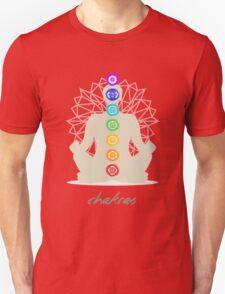 Chakras body Unisex T-Shirt