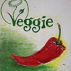 veggie sign by Gema Sharpe