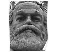 Karl Marx memorial Poster