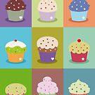 Cute cupcakes by Alejandro Durán Fuentes