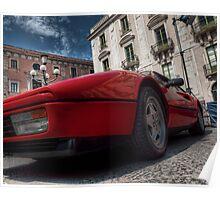 Ferrari 328 GTB Poster
