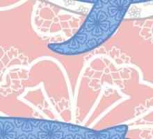 flower whale Sticker