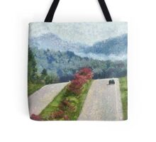 Ride On Into Franklin On The Merle Dryman Parkway Tote Bag