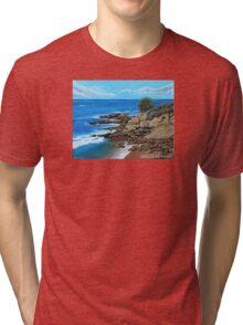 Laguna Beach, Heisler Park Plein Air Tri-blend T-Shirt