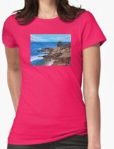 Laguna Beach, Heisler Park Plein Air Womens Fitted T-Shirt
