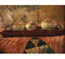 Come Join Me for Tea Photographic Print