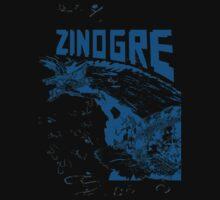 Monster Hunter- Zinogre Roar Design Blue by NinjasInCarpets