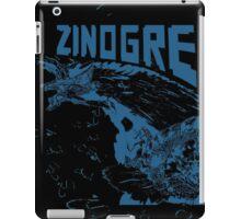 Monster Hunter- Zinogre Roar Design Blue iPad Case/Skin