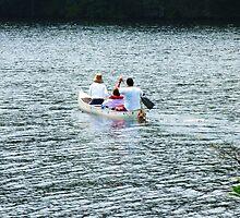 A Paddle At Sturbridge by artwhiz47
