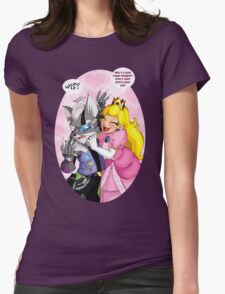 Let's Cuddle! Erm... BRAWL! Womens Fitted T-Shirt
