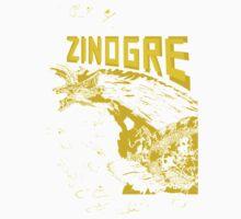 Monster Hunter- Zinogre Roar Design Yellow Baby Tee