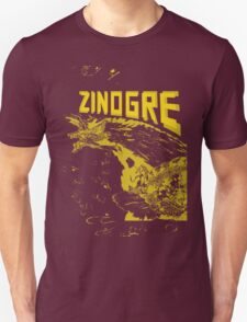 Monster Hunter- Zinogre Roar Design Yellow T-Shirt