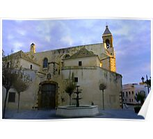 Iglesia de Nuestra Señora de la O, Rota Spain Poster