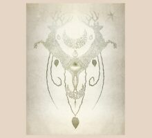Totem Deer Wall Womens Fitted T-Shirt