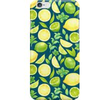 Watercolor fruits iPhone Case/Skin
