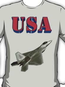 F-22 Raptor Stealth Aircraft T-Shirt