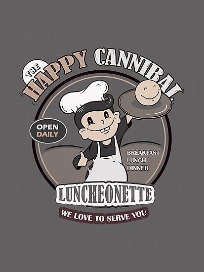 The Happy Cannibal by BootsBoots