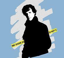 SHERLOCK BBC - Crime scene, do not cross. by logosandpathos