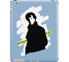 SHERLOCK BBC - Crime scene, do not cross. iPad Case/Skin