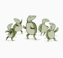 Dancing Turtles Kids Tee