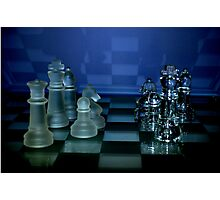 Chess Pieces - Photographic Print