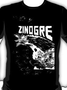 Monster Hunter- Zinogre Roar Design White T-Shirt