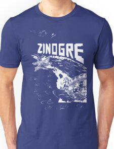 Monster Hunter- Zinogre Roar Design White Unisex T-Shirt