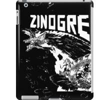 Monster Hunter- Zinogre Roar Design White iPad Case/Skin