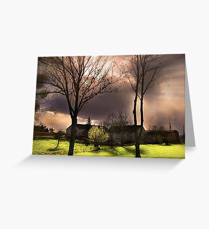 Before A Storm Greeting Card