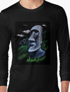 Easter Island Long Sleeve T-Shirt