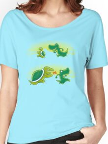 Turtle vs T-rex Women's Relaxed Fit T-Shirt