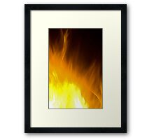 Fire Art Framed Print
