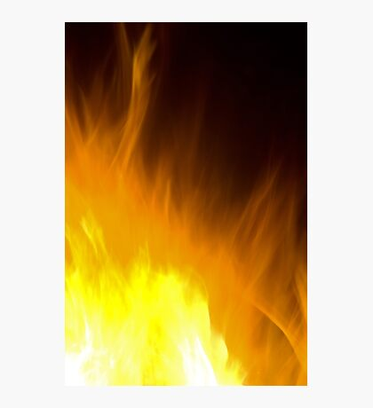 Fire Art Photographic Print