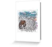 The Atlas of Dreams - Color Plate 178 Greeting Card