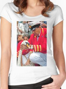 The Queens Swan Marker Women's Fitted Scoop T-Shirt