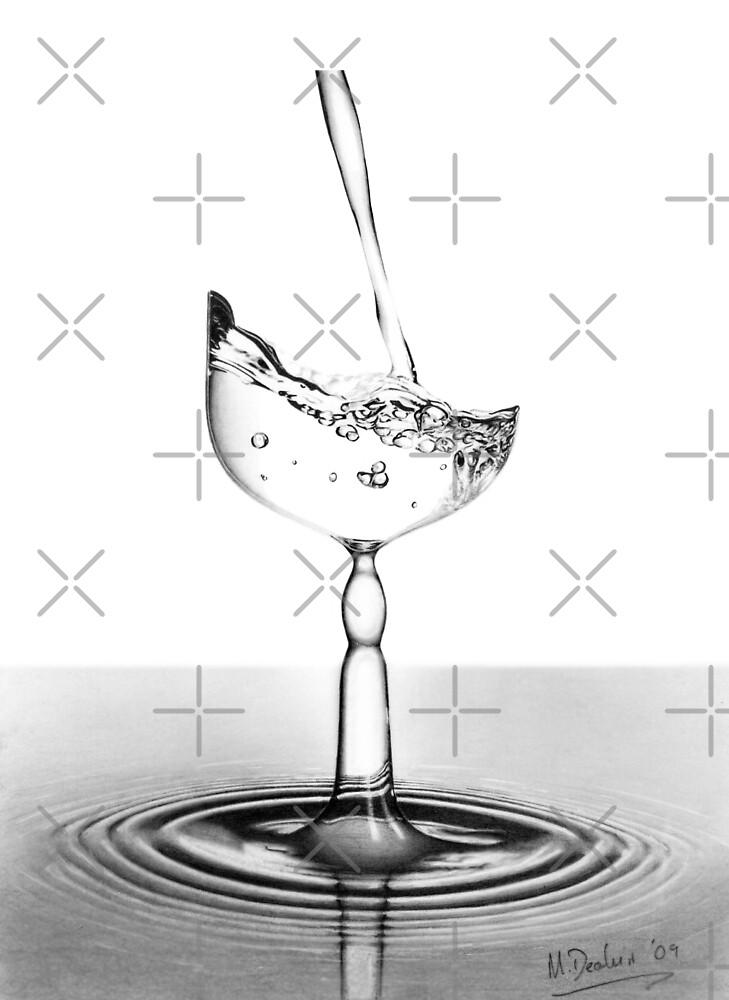 Glass of Water.......is it? by Matt Deakin